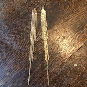 Vintage long dangling earrings